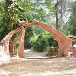 The original Gateway to the Osun Groves is finally completed!