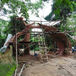 The Arch had fallen down and had to be rebuilt entirely.